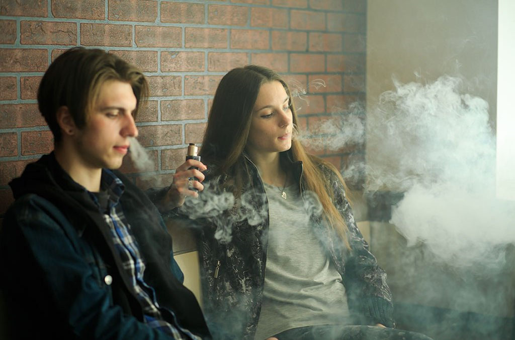 Is Teen Vaping Really A Problem In The UK?